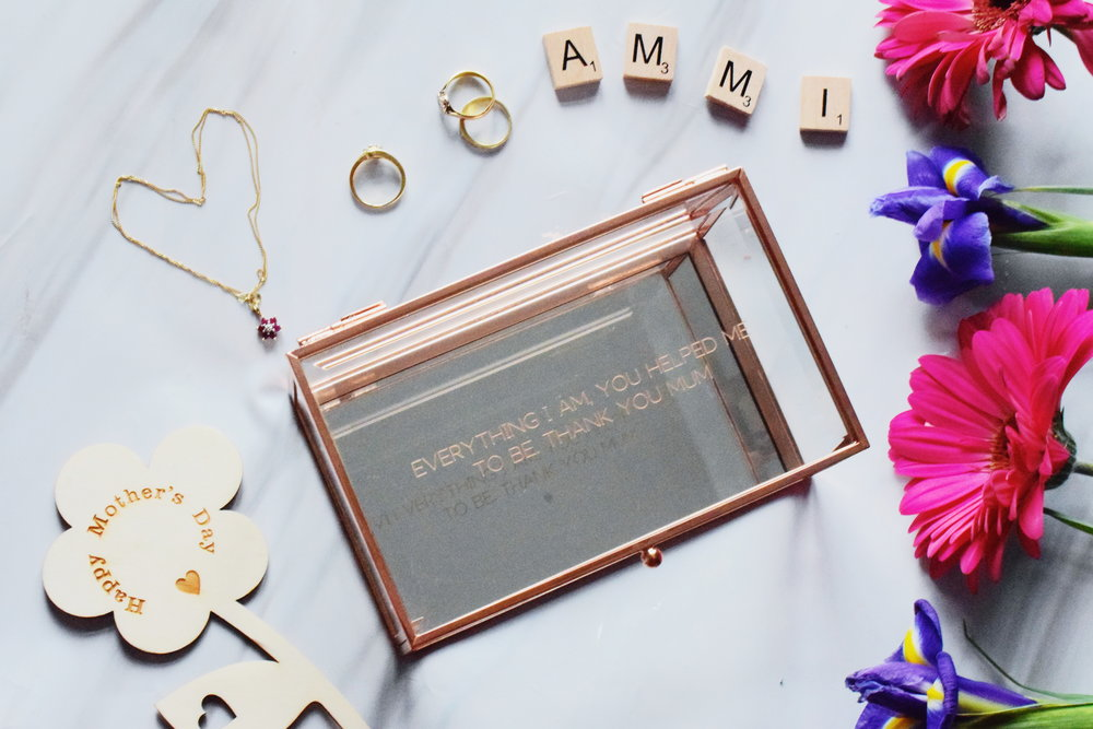 I Just Love It personalised rose gold jewellery box Mother's Day gifts 2019