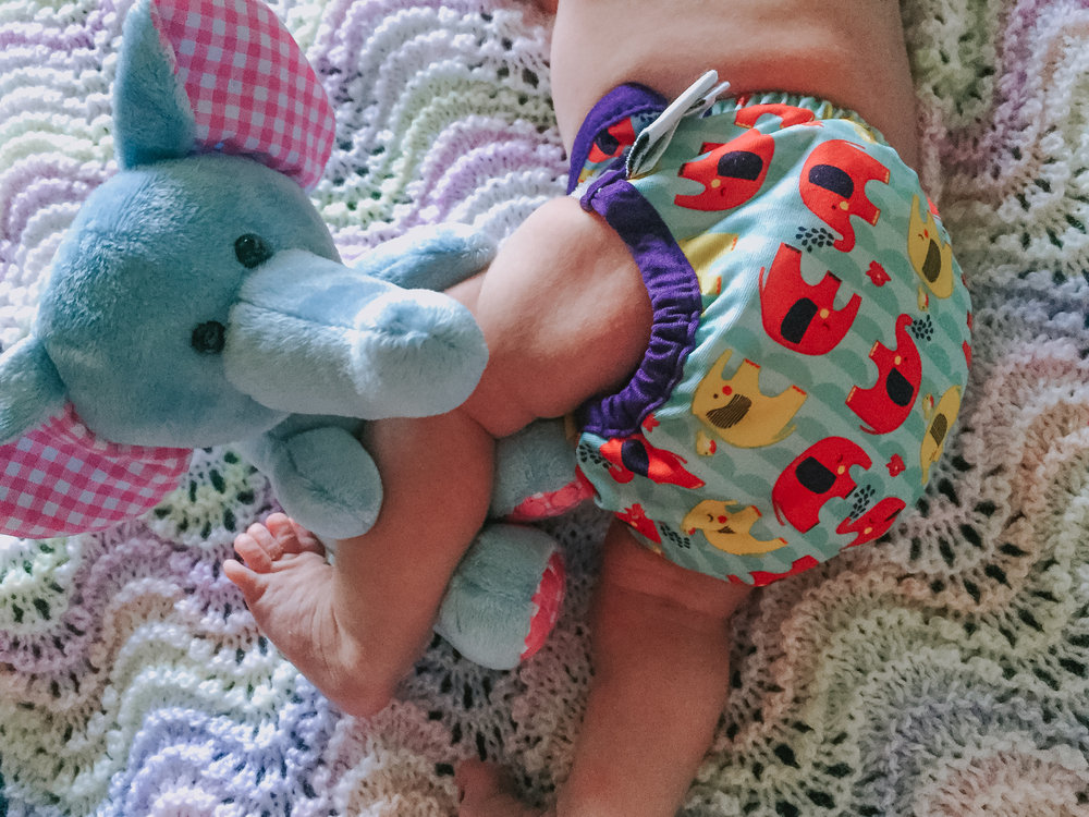 Using cloth nappies from birth