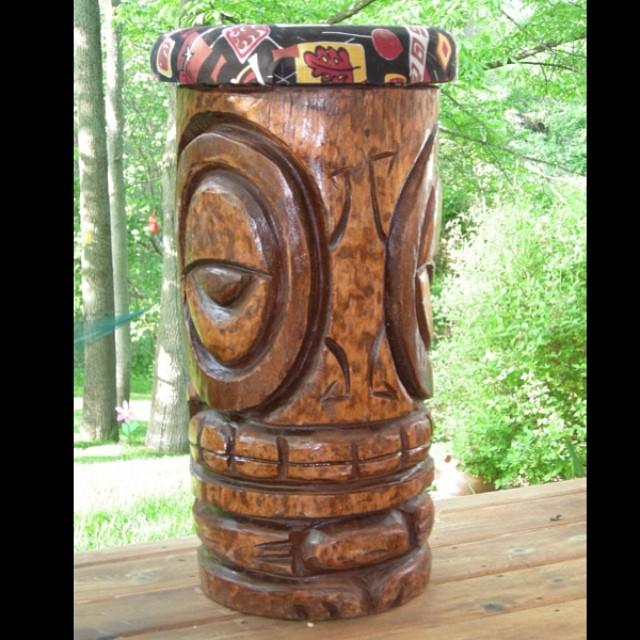 Caroline's Barstool created by Tiki Tony