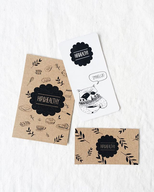 The ladies from Hip&Healthy make the most delicious vegan/raw food. They asked for a simple yet playful branding, so we worked with some personalised simple drawings and a lot of recycled paper. #hermân #hipandhealthy #vegan #raw #food #instafood #eatclean #healthy #branding #kraft #vormgeving #graphic #design #art #business #freelance #graphicdesign #drawing #illustration #creative #creativity #logodesigner #create #handdrawn #hasselt