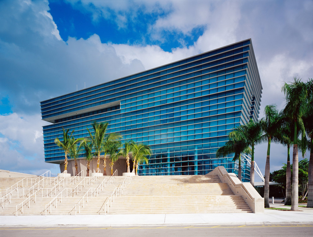 completed office renovation project, Aventura City Hall , Florida