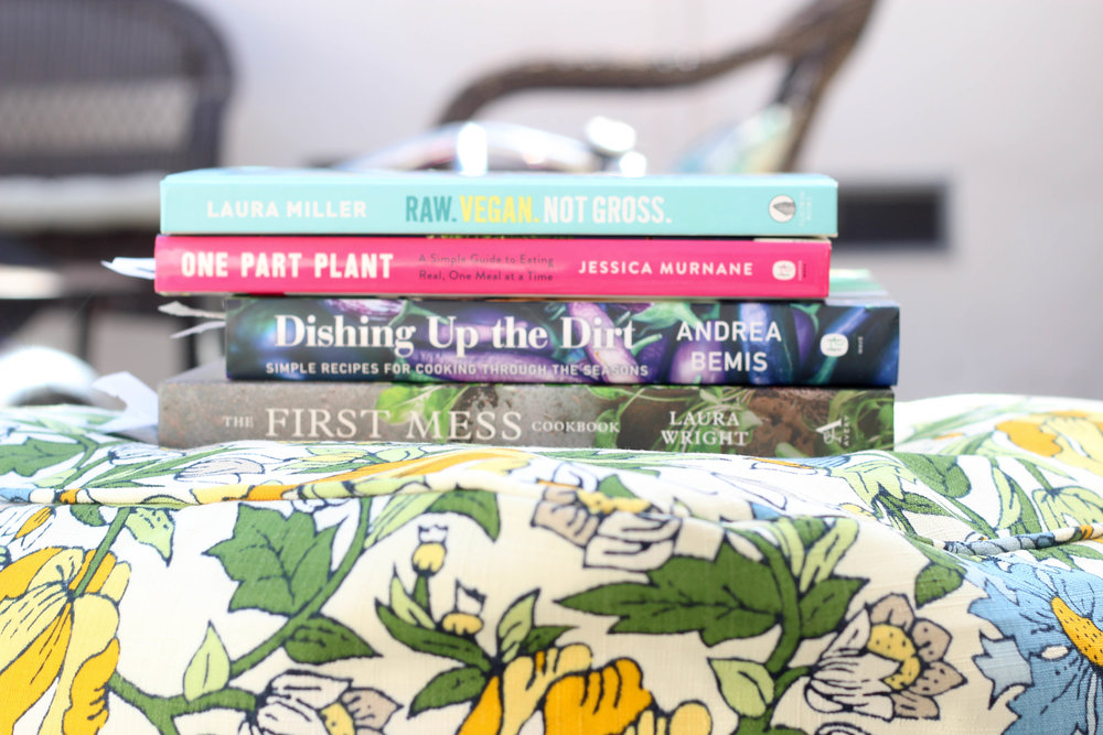 plant based cook books | life by bri