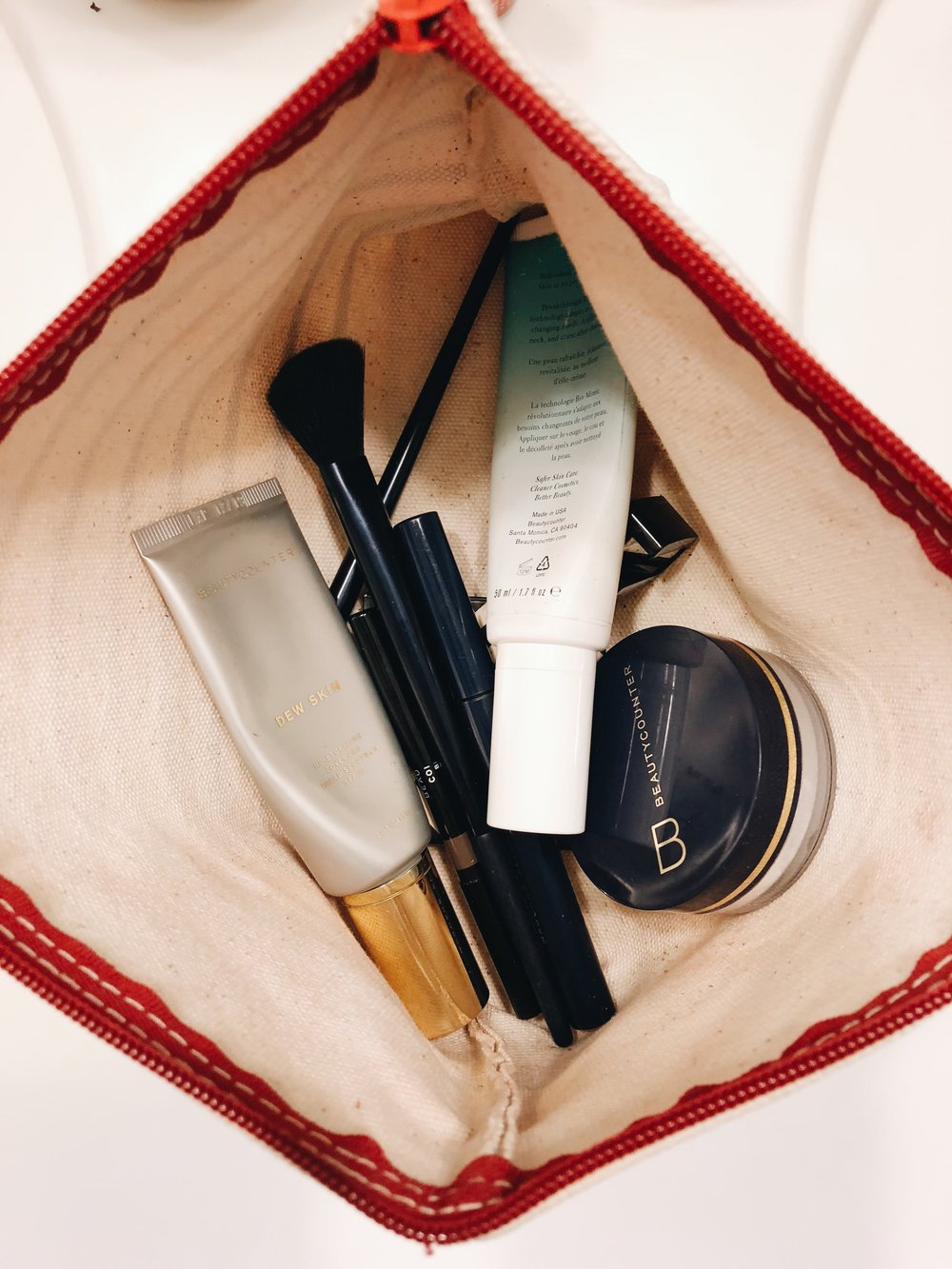 Makeup Bag After -