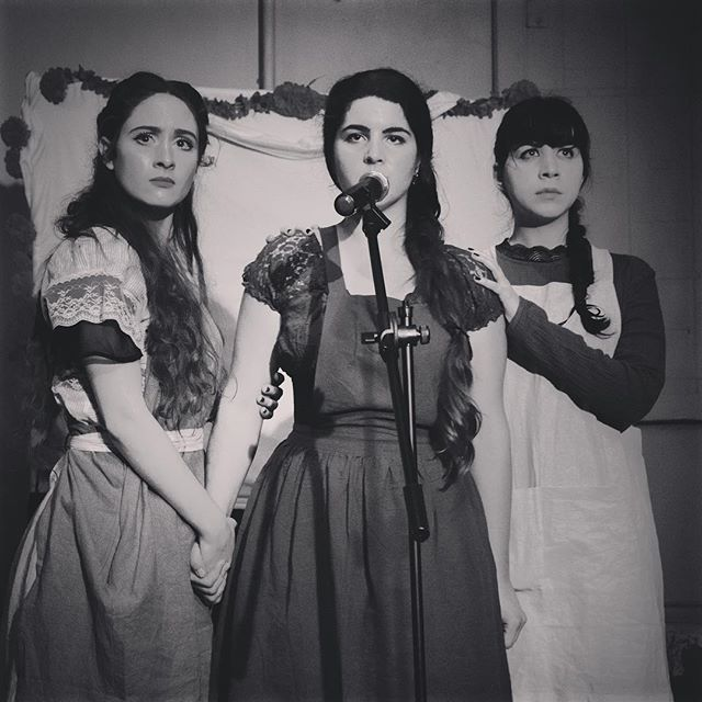 Last chance to see @thecavefolkopera TONIGHT!! Tix at thecavefolkopera.com or @todaytix ❤️❤️❤️ Daughters @ashley.coia @melanie.rose.magic & @lacyrosemusic