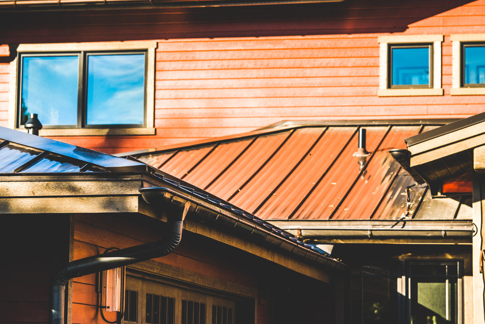 A Mechanically Seamed metal Roof installed by On Top Roofing.