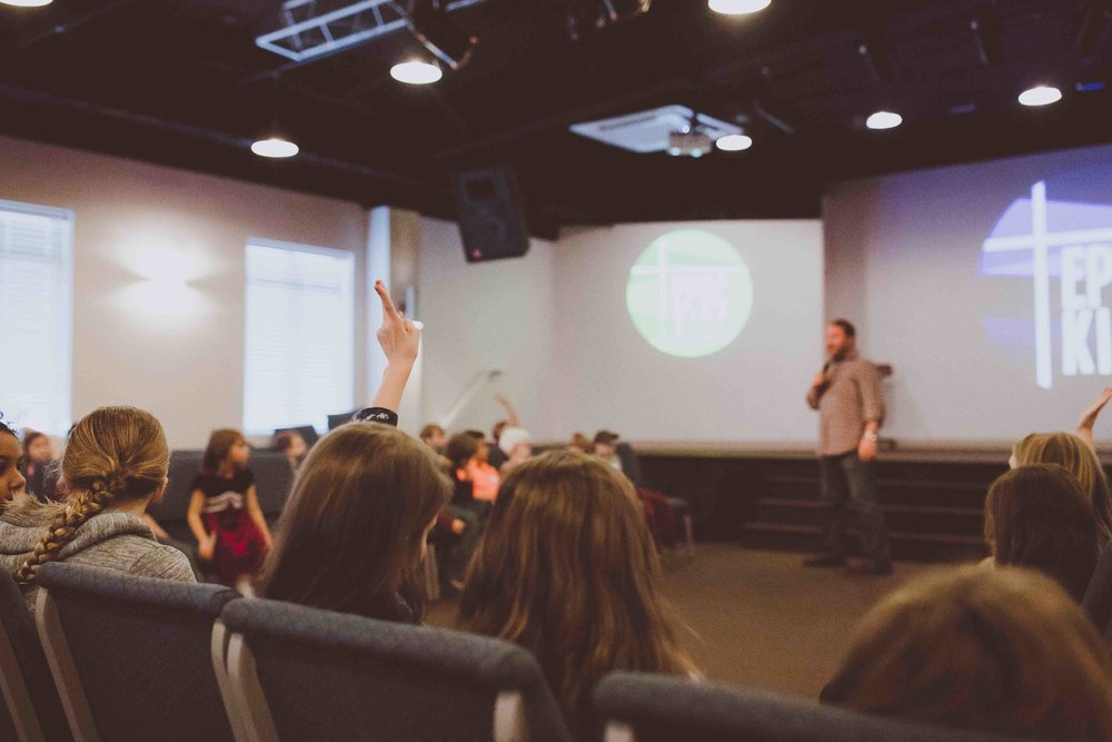 What About My Kids? - We believe in investing in the next generation. At East Pickens, you'll find environments for children and teenagers that engage them on their level, introduce them to Jesus and the Bible, and point them towards a relationship with Christ.