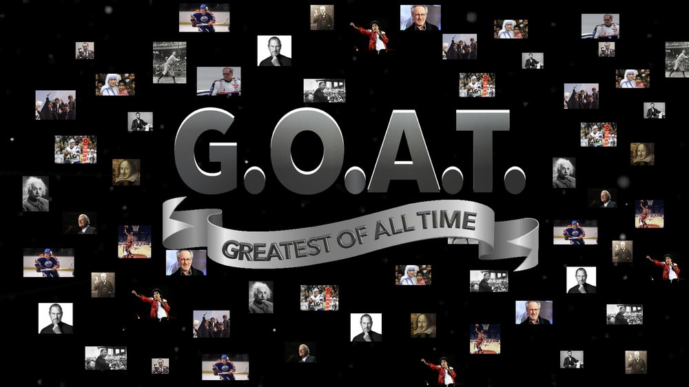 G.O.A.T.:                                 Greatest of All Time - In this series rooted in the book of Matthew, we unpack the most important teachings of Jesus, the Greatest Of All Time! Click here to watch this series.