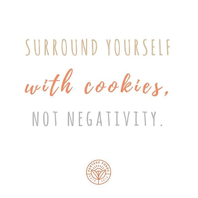 Only good vibes and 🍪🍪🍪 here!
