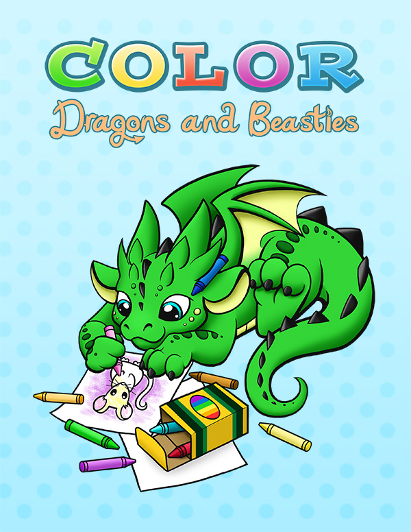 Color Dragons and Beasties - $7.99