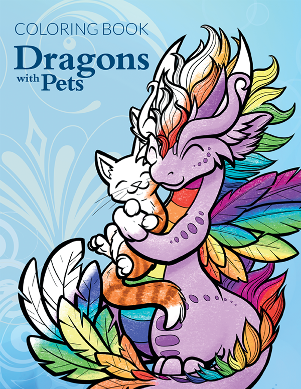 Dragons with Pets - $7.99