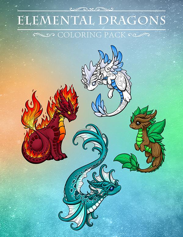 Elemental Dragons PDF - $4.95