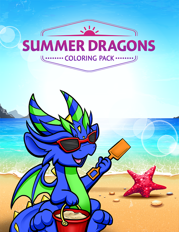 Summer Dragons PDF - $4.95