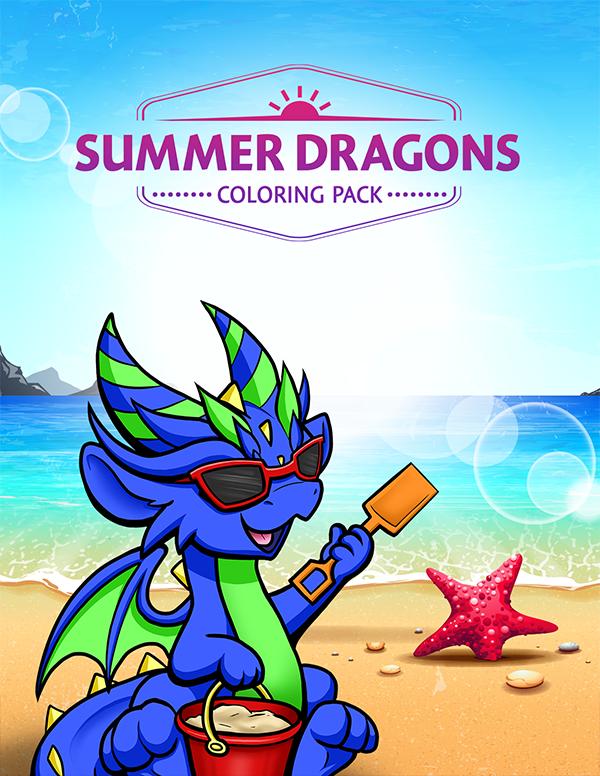 Summer Dragons PDF - $4.95