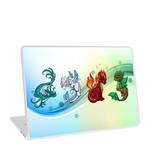 Elemental DragonLaptop Skin - $29.16