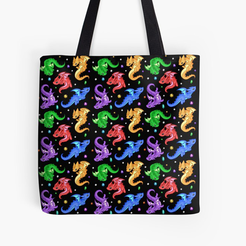 Gem DragonTote Bag - $20