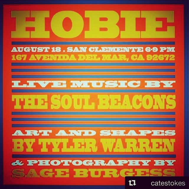 Tomorrow nite: Shake it like you want it, The Soul Beacons team up with our man Tyler Warren to bring the funk to the people! Bring your fire retardant suits because San Clemente Hobie is going to be fucking in fire!🔥🔥🔥these jams are free to witness, come early and check the scene because there will be some radical art for your eyeballs to view as well🌵🍹🍍⛵️️⛵️️⛵️️ #funk #soul #hammondorgan #vinylrecords #danceparty #thesoulbeacons #tylerwarren #hobiesurfboards #sanclemente #sageburgess #jettylife