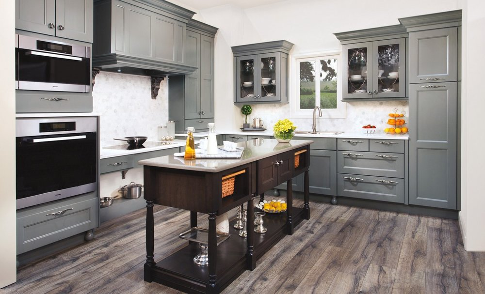 08-–-L-shape-kitchen-decoration-using-grey-wooden-kraftmaid-bathroom-vanities-including-grey-wooden-ktichen-vent-hood.jpg