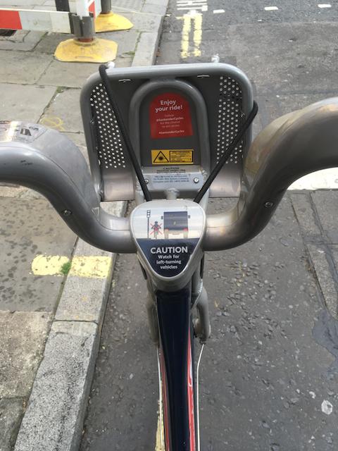 The Santander Cycle
