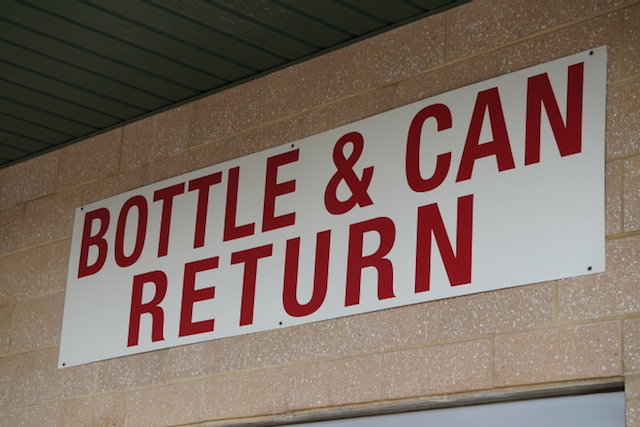 Bottle & Can return in the US