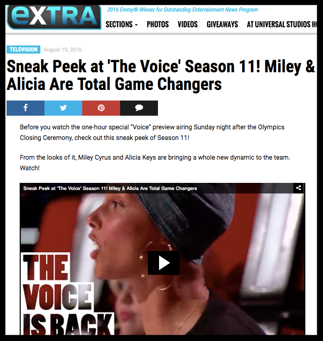 e news the voice