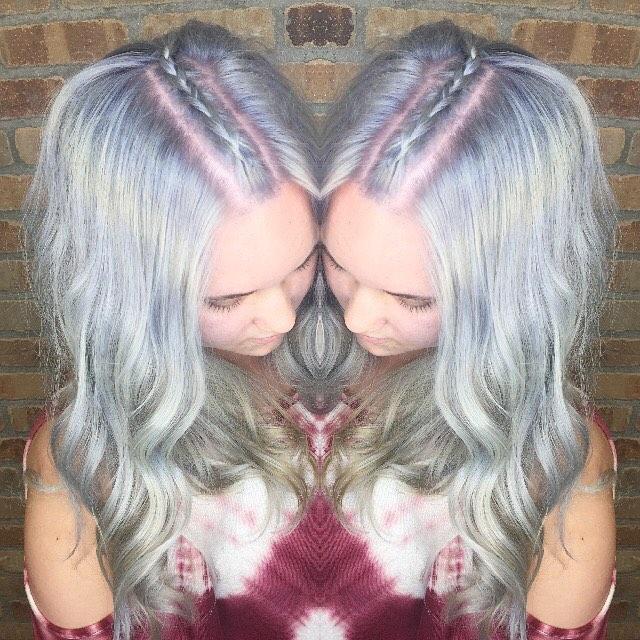 Fun hair #hushushbangbang #braids #pastelhair #summer #funhair #festival #pretty #ocstylist