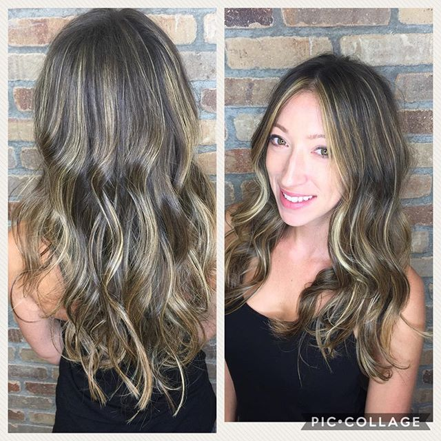 Beautiful brunette! #hushushbangbang #brunette #balayage #highlights #ocstylit's #summer #beautiful #hair