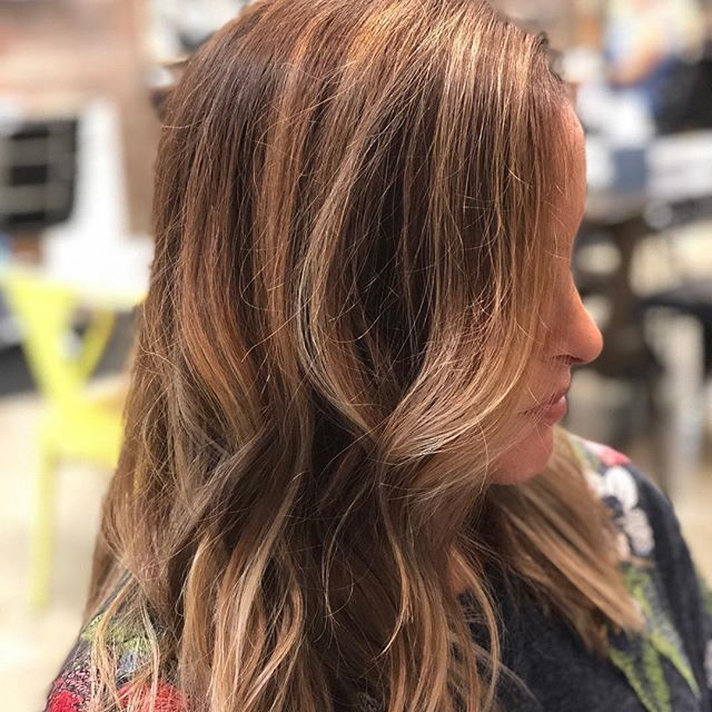 Love this babes new cut and color! #ocstylist #hhbb #sunkist