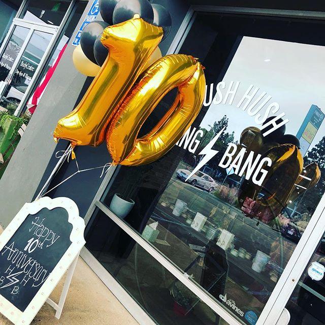 Happy 10 year anniversary HH⚡️BB!!! Can't wait to celebrate in Vegas! @hushhushbangbangoc