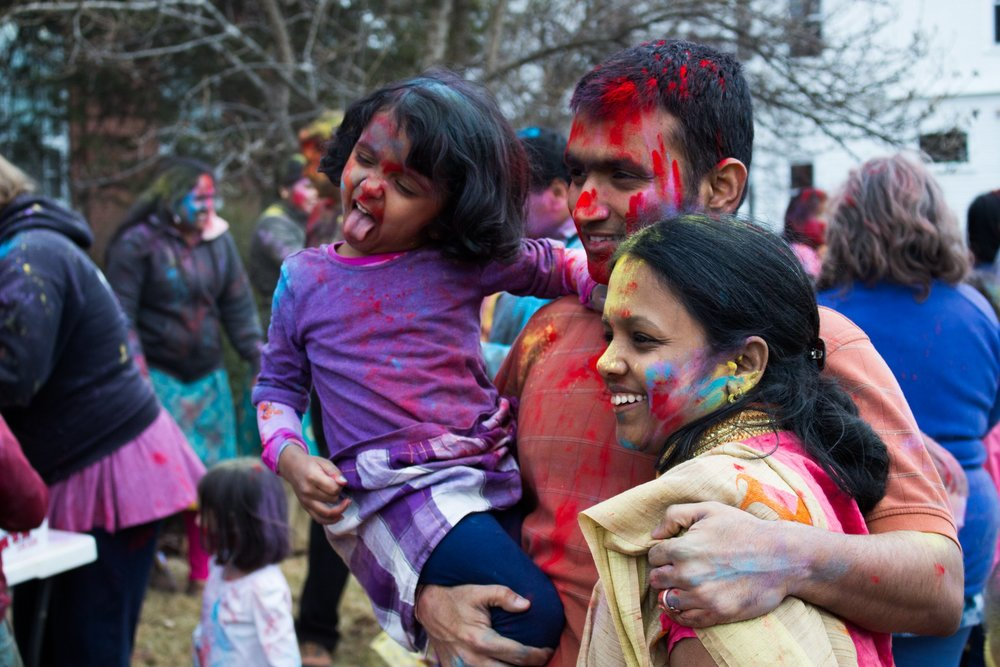 Holi Festival celebrated at the Historical Society of Cheshire County
