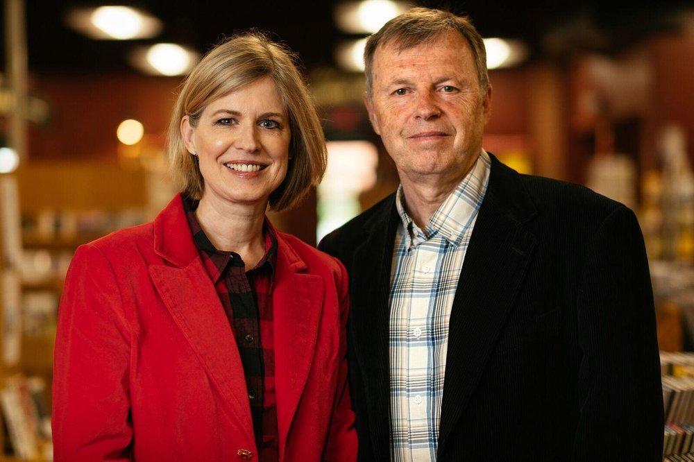 Authors Sandra Neil Wallace & Rich Wallace