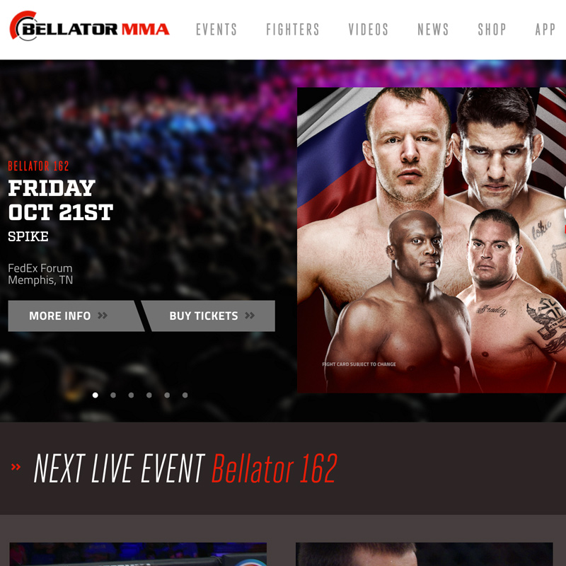 BELLATOR REDESIGN