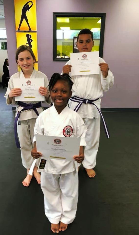 Excellent Job ! - Atticus, Theo, and Sanders passed their test !