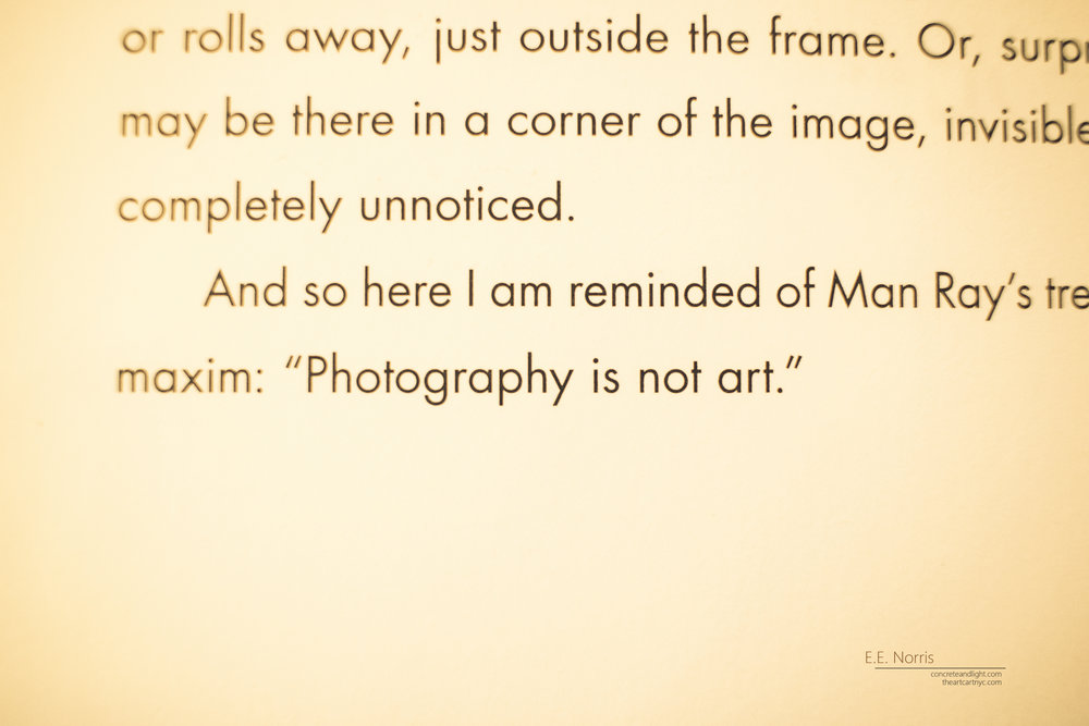 Photography is Not Art
