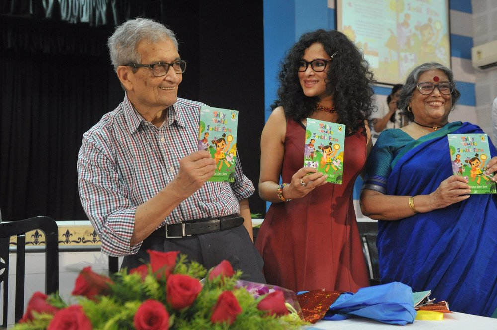 Talky Tumble Book Launch, La Martinere, Kolkata, India July 10, 2017
