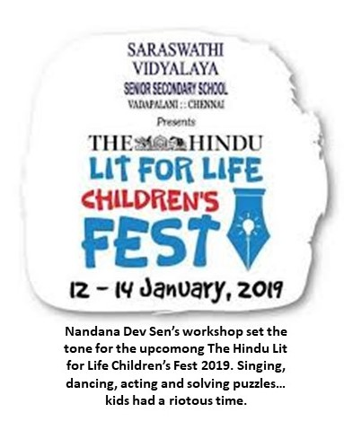 The Hindu - click here to see full article (external website)  January 10, 2019