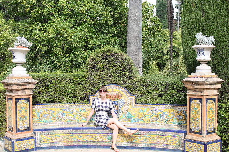 Emma block travel Guide to Seville alcazar