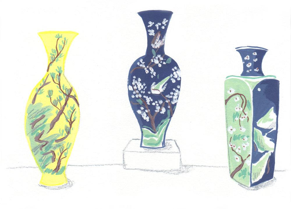 emma block ming vases
