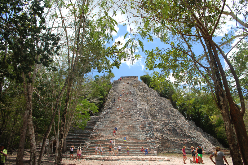 coba mexico ruins