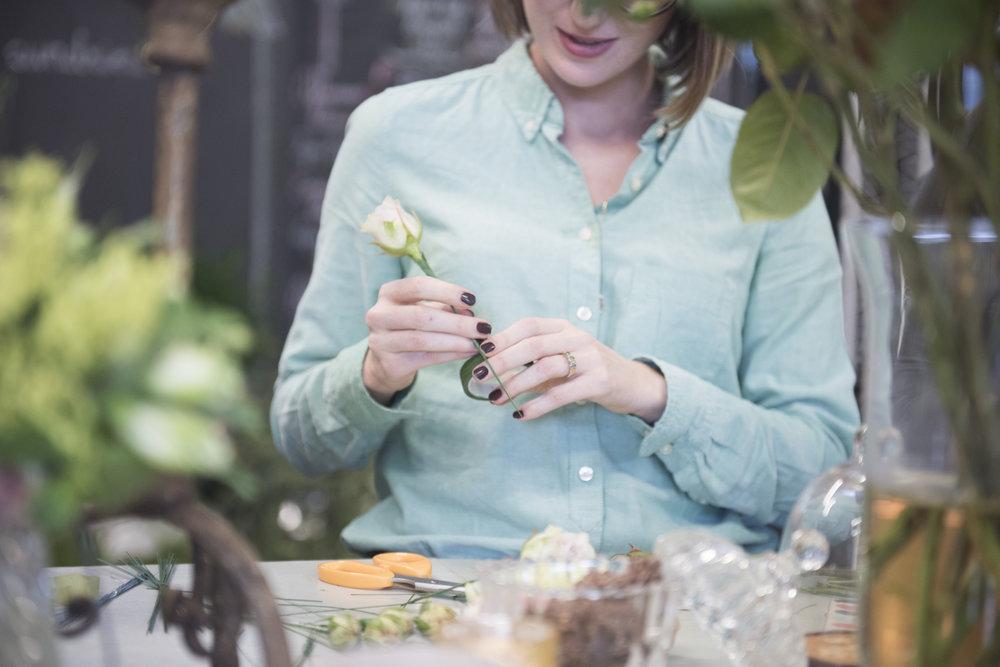 your london florist workshop