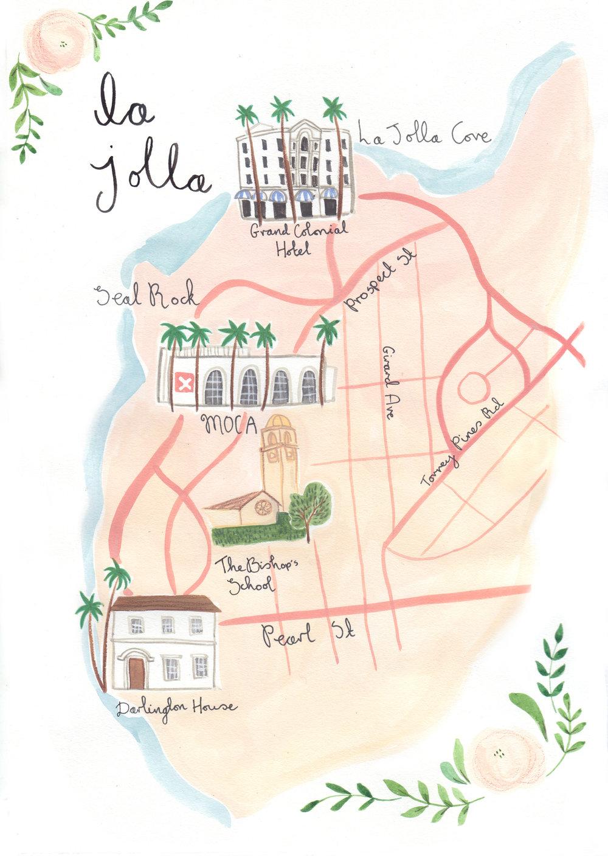 La Jolla Map