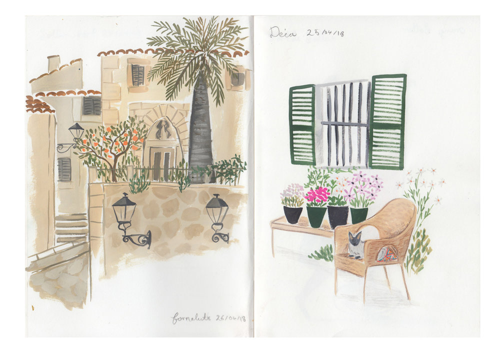 sketchbook mallorca  emma block