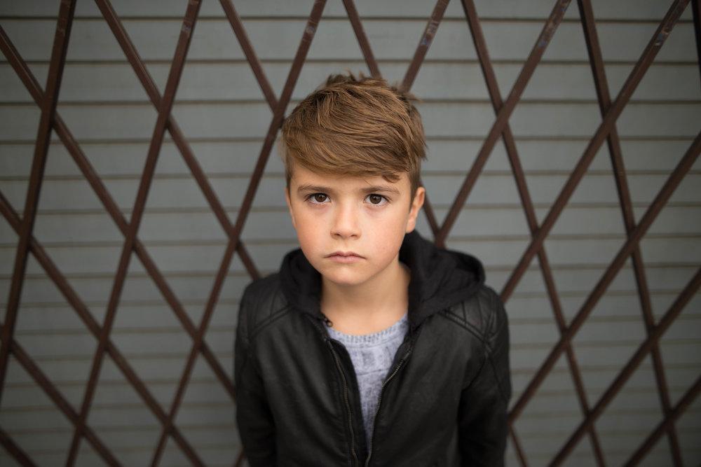 child portrait downtown edmonton