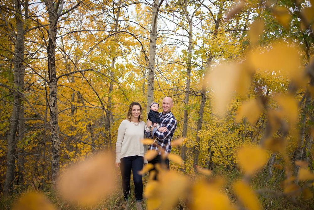 fall family photo edmonton