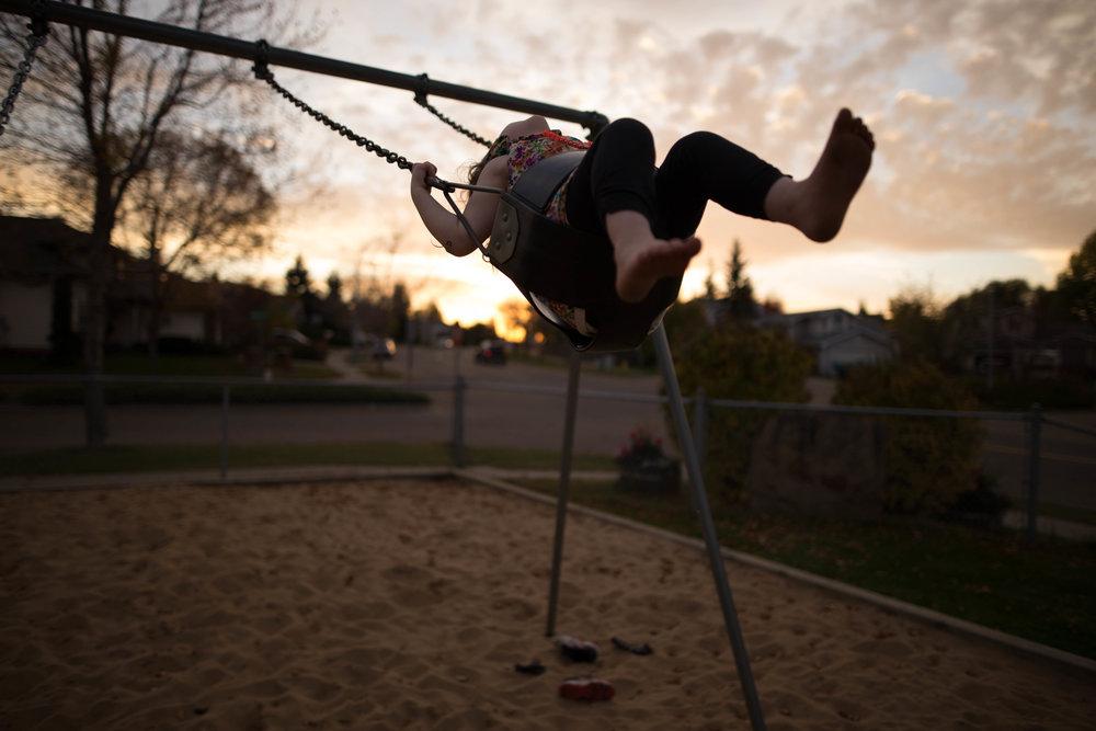 family photos at the park | edmonton , sherwood park