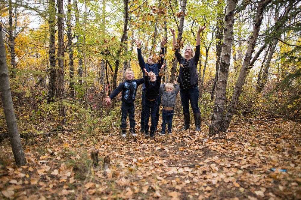 family photos edmonton autumn