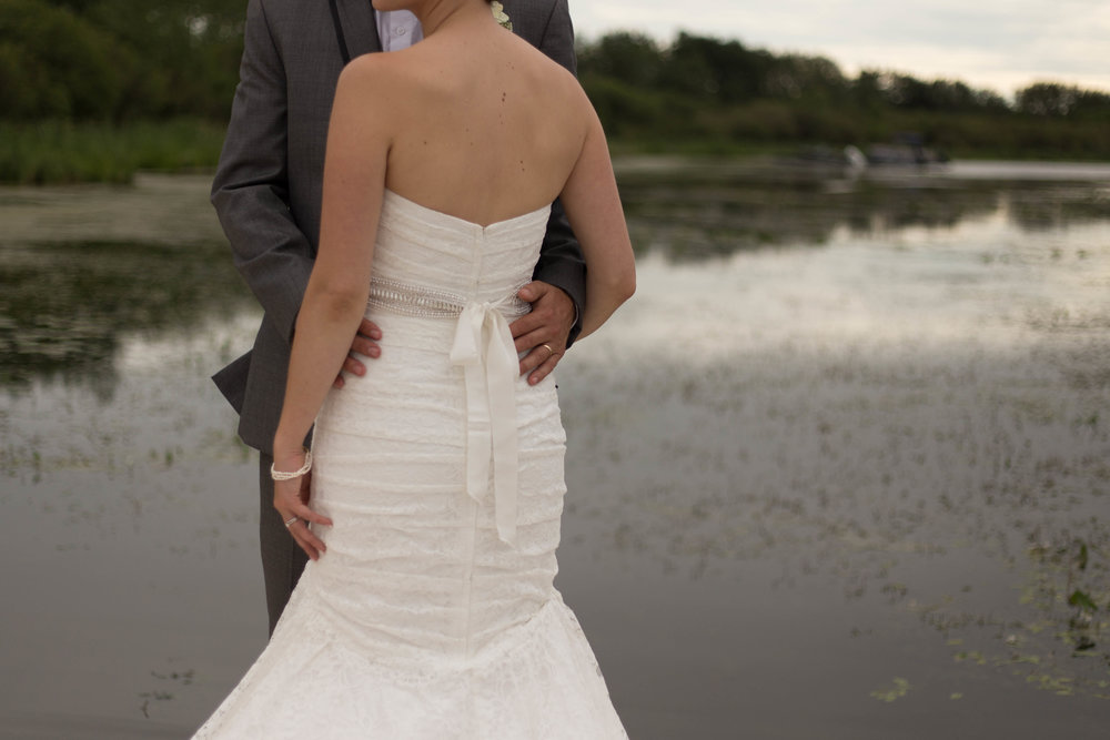 bride and groom wedding image. cold Lake, AB