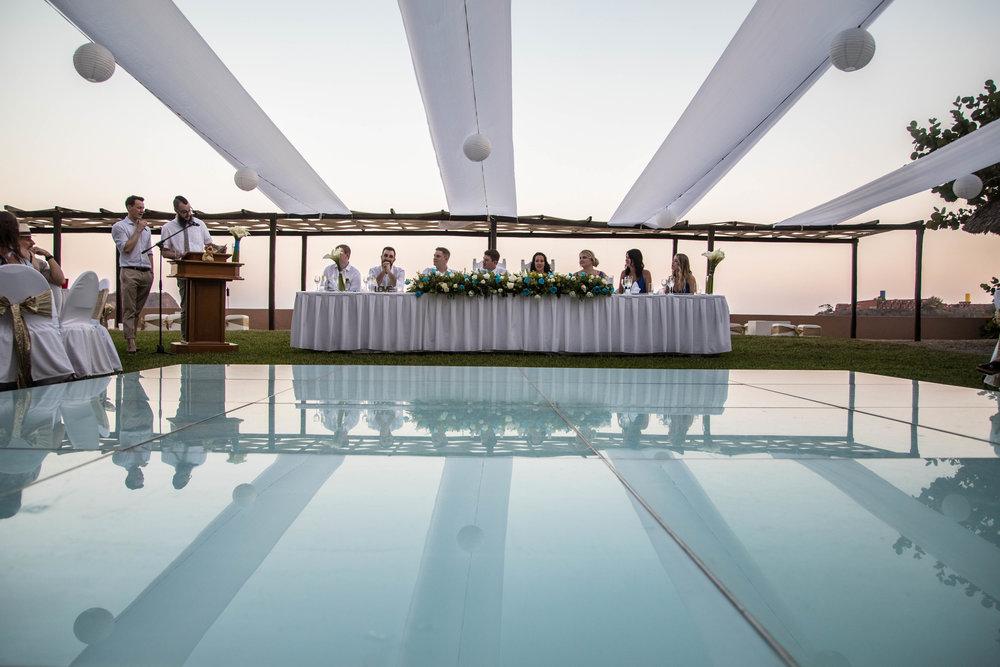 wedding at Barcelo Huatulco Mexico