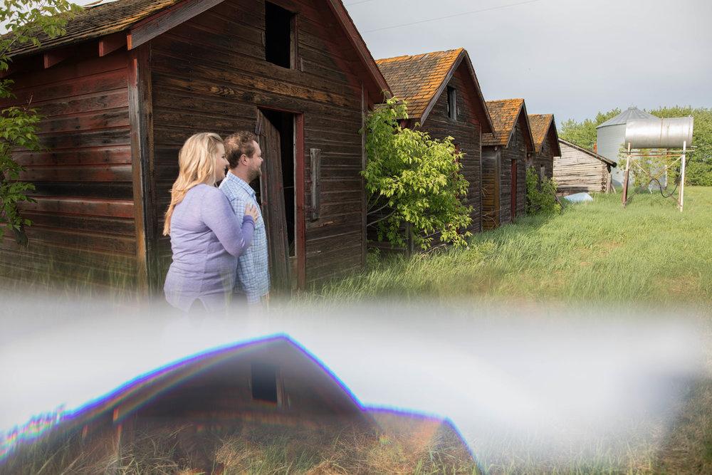 farm engagement photos