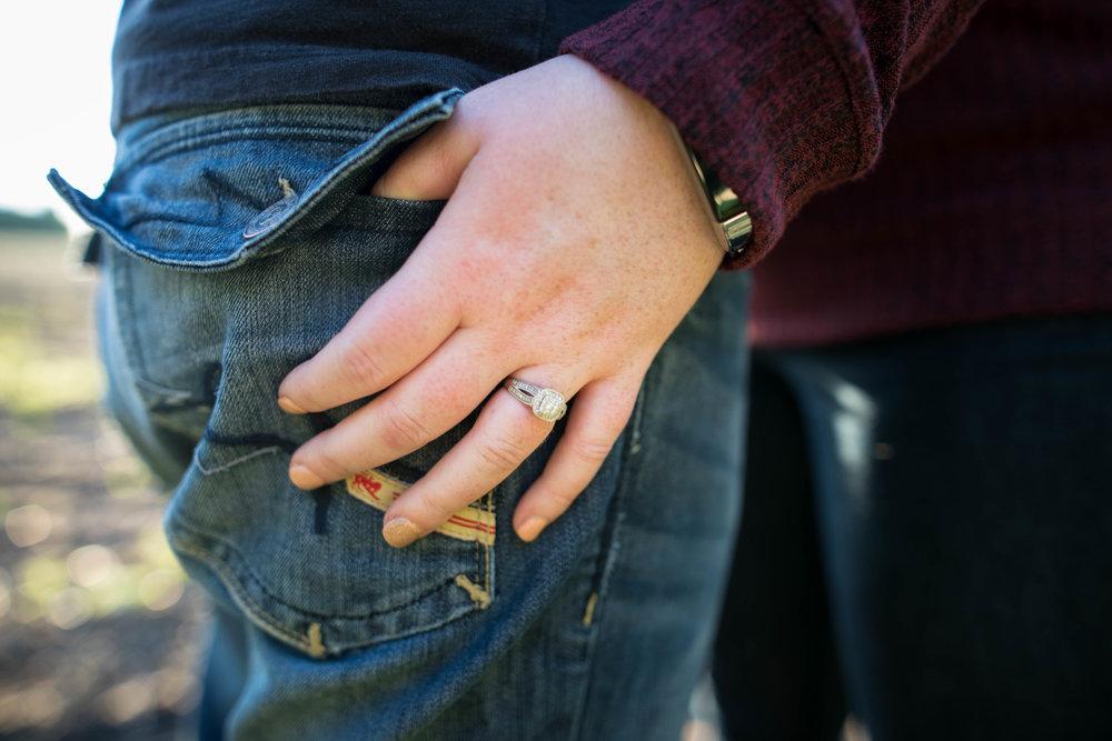 engagement ring photo | westlock farm