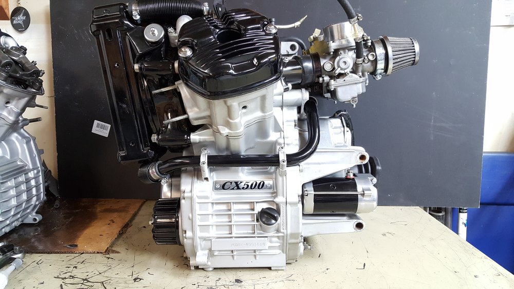 Honda cx500 engine build lake motorcycle